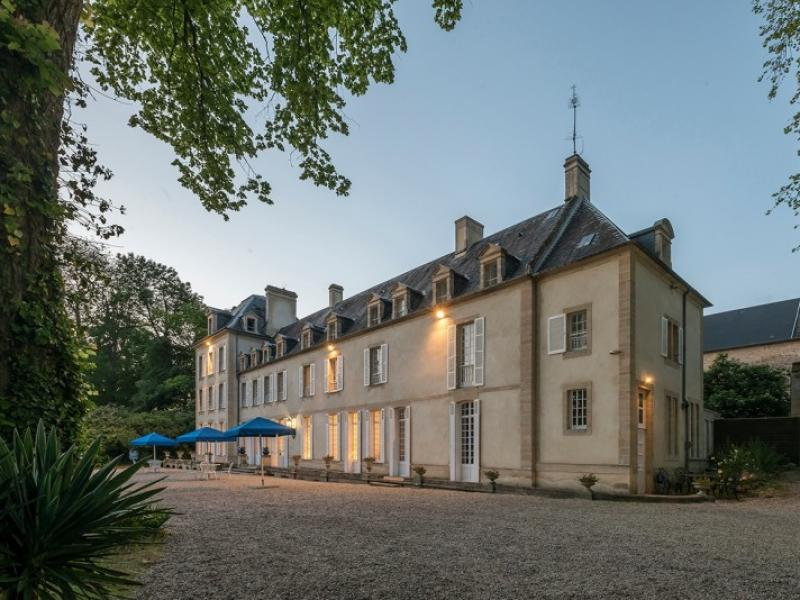 Evening light at the Chateau