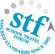 stf logo Text Band
